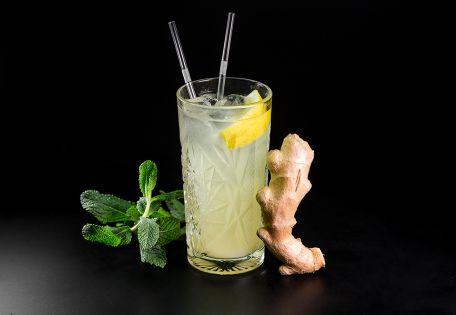 Лимонад имбирно-мятный