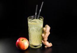 Лимонад имбирно-яблочный