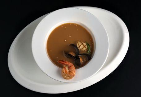 Суп тайский с морепродуктами